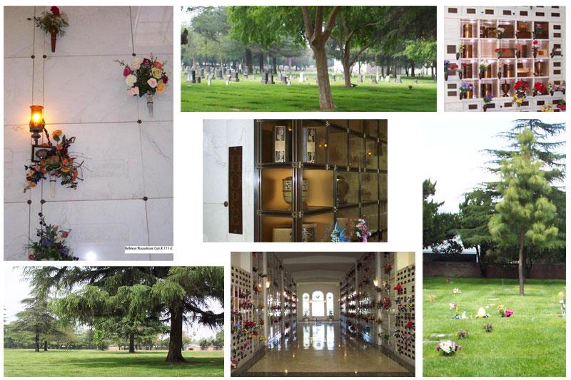 Features. Bellevue Memorial Park