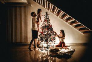 Holiday Tradition Christmas Tree Decorating