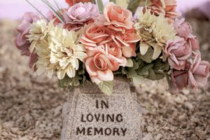 Memories provide bright spots in the darkness of grief.